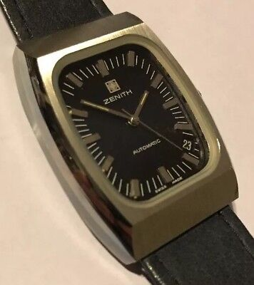 ZENITH 01-0030-380, 2572PC, rare vintage, Automatic, Swiss Made NOS