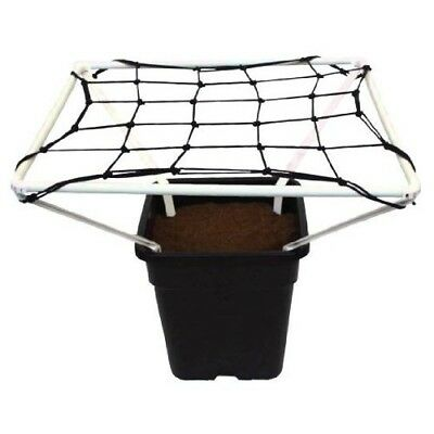 Scrog Net 1.2 With Frame Plant Support Grow Tent Hydroponic Growing