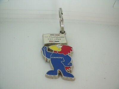 Porte Cles / Key Ring Coupe Monde Football World Cup 1998 Footix Ffj Top