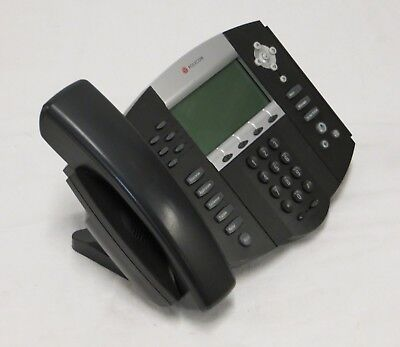 POLYCOM SOUNDPOINT IP 650 SIP Desktop Phone PoE