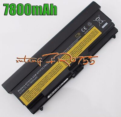 9Cells 7800mAh Batterie Pour Lenovo ThinkPad L512 FRU 42T4737 42T4751 42T4753