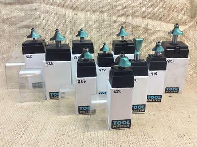 """Clearance Lot Duotool Tct Router Bits Choice Shapes Sizes 1/4"""" & 1/2"""" Shank"""