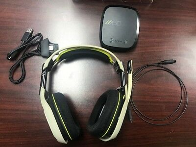 Used Astro A50 Wireless Gaming  Headphones for Xbox One-FAST SHIPPING!!  BUNDLE!