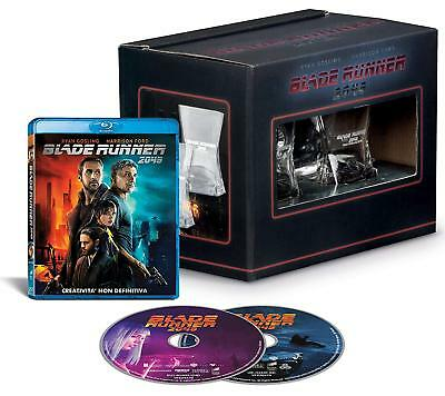 2 Whiskey Glasses Blade Runner 2049 + 2D Bluray Italian Limited Edition + New