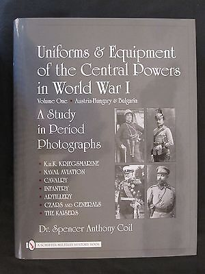 Book: Uniforms & Equipment of the Central Powers in World War I: Vol 1 Austria