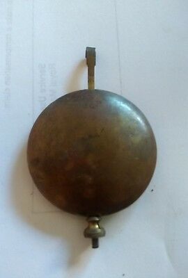 Old Brass Pendulum*7.5  Cm Long* Lead Filled*