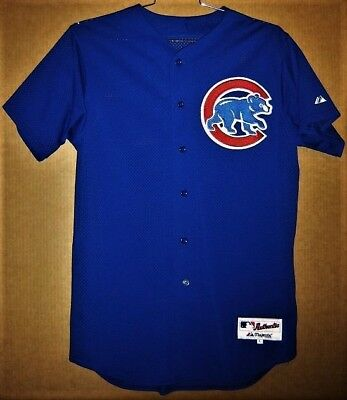 hot sale online 8a11f b9d00 CHICAGO CUBS ROYAL BLUE ALTERNATE (Size Large) MLB JERSEY