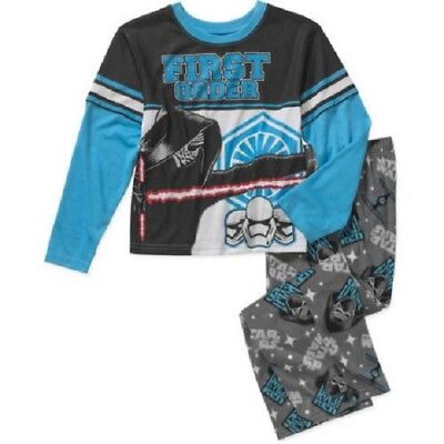 Boys Star Wars First Order 2pc Pajamas Set Size 4/5 New with Tags Cool Kids