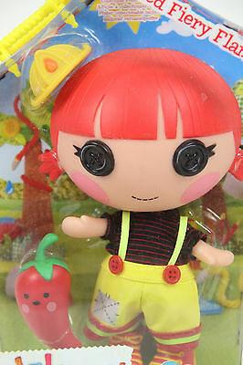 LALALOOPSY Littles Red Fiery Flame 20 cm Spielpuppe mit Roter Chilli Schote OVP