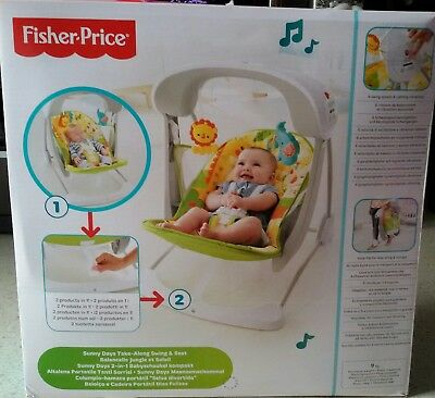 Hamaca Columpio Bebes Fisher Price Selva Divertida