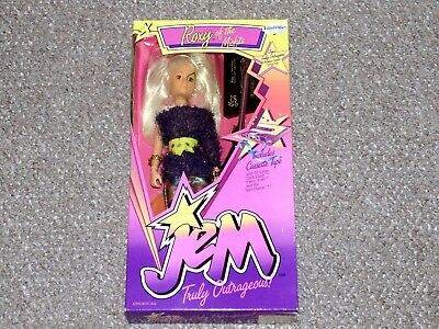1987 Jem and the Holograms Roxy of the Misfits Doll Brand New MIB