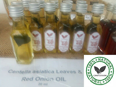 Centella asiatica Leaves &  Red Onion essential OIL 20ml for Catarrh