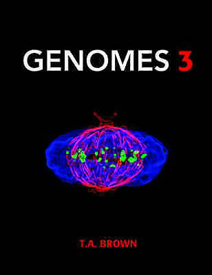 Genomes 3rd edition by T. A. Brown (Paperback, 2007)