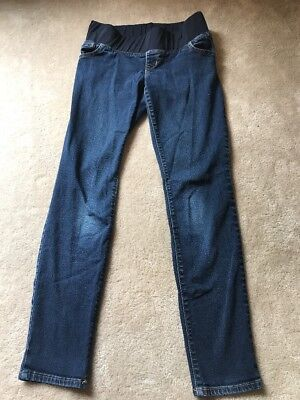 e1ec7c477a3d7 Old Navy Women's Maternity Size 2 Xs Extra Small Skinny Low Panel Jeans  Denim