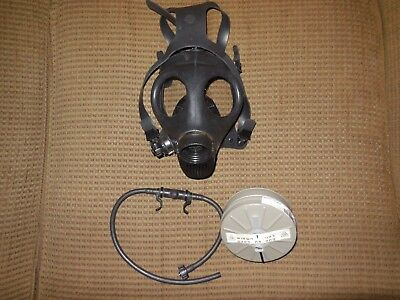Israeli Youth Civilian Gas Mask & Standard 40mm NBC Filter with hydration port