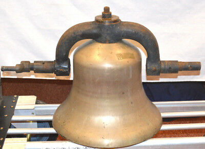 """Vintage 16"""" Railroad Locomotive Bell - Local Pickup Only"""