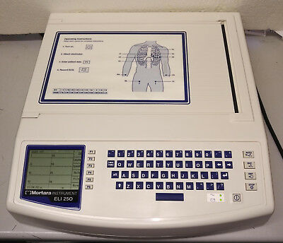 Mortara ELI 250  EKG/ECG Machine w/Interpretation... Inventory Clearance!