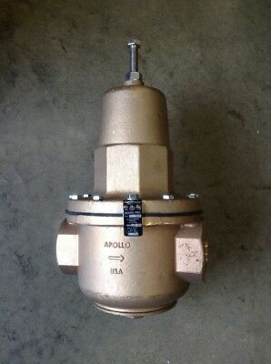 APOLLO 36H20801 Water Pressure Reducing Valve,2 In.