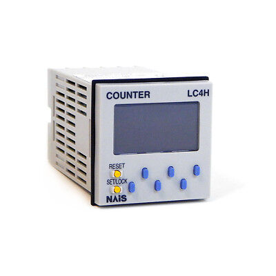 NEW Nais LC4H-PS-R6 Electronic Counter AC240V AEL5387PS