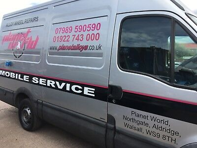 Mobile Alloy Wheel Repair Van Business - Fully Kitted Out Ready For Work