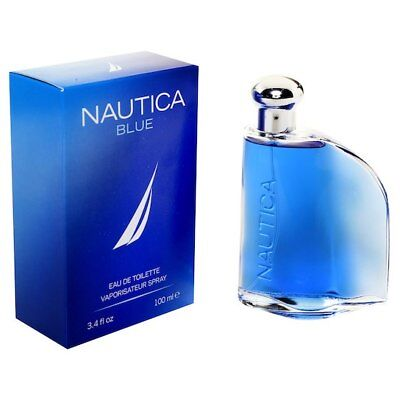 Nautica Blue By Nautica For Men-Edt-Spray-3.4 Oz-100 Ml-Authentic-Spain