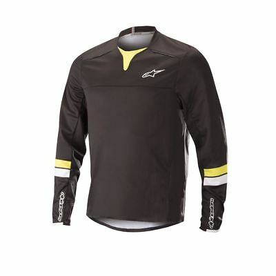 62c8a8a8d Alpinestars Drop Pro Long Sleeve Jersey 2018  Black acid Yellow L