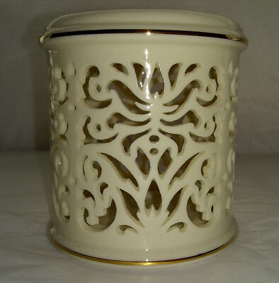 Lenox Handcrafted Lace Design Votive Candle Holder