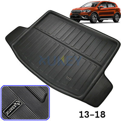 Boot Liner Cargo Trunk Floor Tray Mat Carpet For Suzuki SX4 S-Cross 13-18