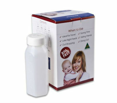 grow baby Disposable Sterilised Bottle - 250 ml Travel Pack - 4 pack