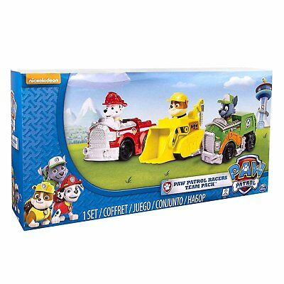 Children Paw Patrol Rescue Racers Vehicle Assorted Character Toy for Kids