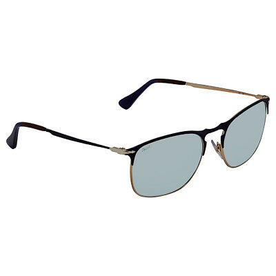 6e940a4ead PERSOL LIGHT GREEN Mirror Silver Square Sunglasses PO7359S 107330 55 ...