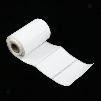 57mm Rectangle White Thermal Transfer Label Perforated Printing Paper