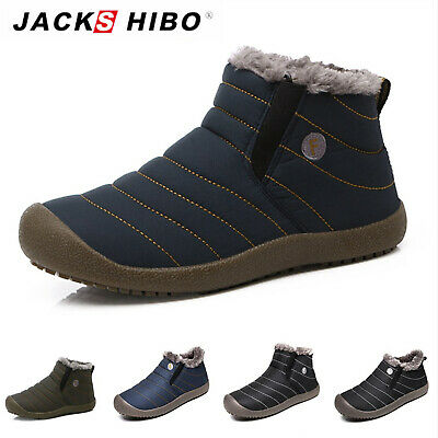 Womens Winter Snow Ankle Platform Boots Fur Lined Waterproof Outdoor Cozy Shoes