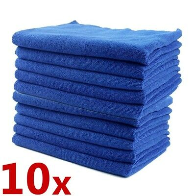 40 Large Microfibre Home Kitchen Car Valeting Dusters Polishing Cleaning Clothes