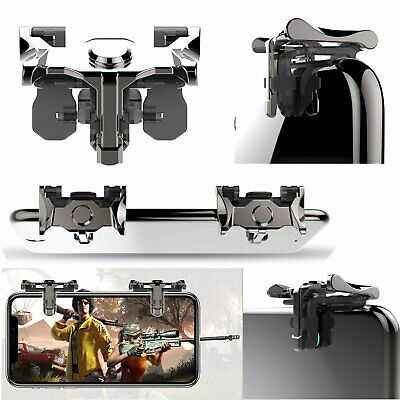 L + R Phone Mobile Gaming Trigger Fire Button Handle for Shooter Controller PUBG