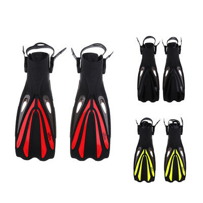 Snorkel Diving Swimming Training Aid Fins Adult Unisex Long Foot Flippers