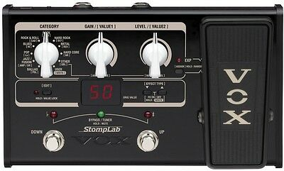VOX StompLab SL2G Modeling Guitar Floor Multi-Effects Pedal NEW F/S Japan Import