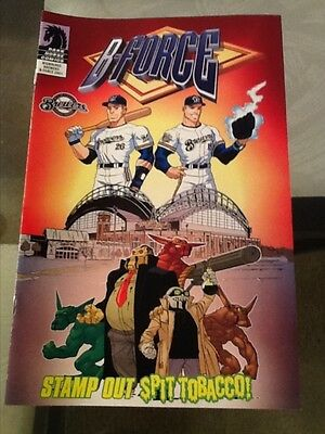2005 Dark Horse Comics SGA MILWAUKEE BREWERS B-FORCE [Stamp Out Spit-Tobacco]