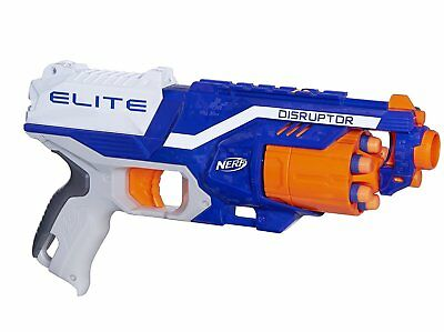 Nerf Elite N Strike Disruptor Blaster Gun Dart Toy Colors May Vary Soft Fire
