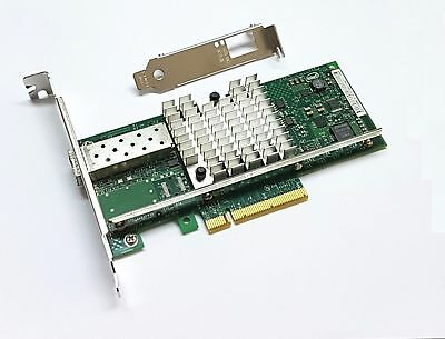 Intel X520-DA1 10 Gigabi NIC 10GBe SFP+ Single Port Server Damaged Clip!!