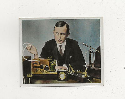 44/736 Sammelbild Marconi Radio Technik Nachrichten London