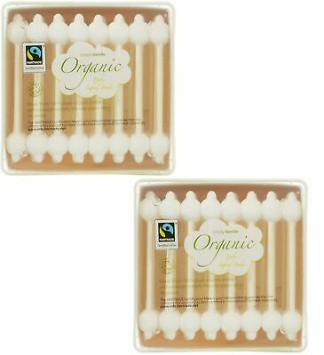 Simply Gentle Organic Baby Safety Buds -Fair Trade -100% Pure Cotton