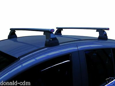 Roof Bars Complete Lancia Ypsilon 5 Doors From 2011 ,set Steel