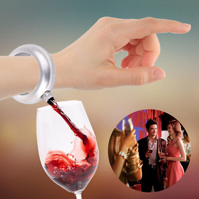 3.5oz Portable Bracele Flask Bangle Hidden Booze Smuggle Bracelet Wine Pot Flask
