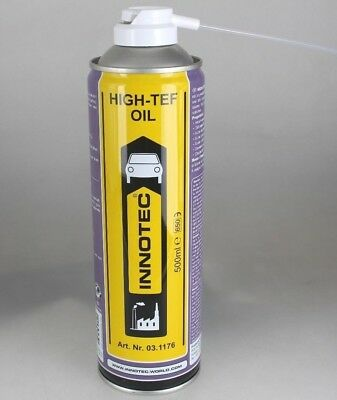 Innotec High-Tef Oil / Teflonöl / Aerosol / Schmieröl auf PTFE-Basis / 500 ml