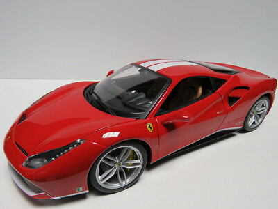 "1/18 BURAGO - FERRARI 488 GTB ""THE SCHUMACHER"" 70th Anniversary - Red"