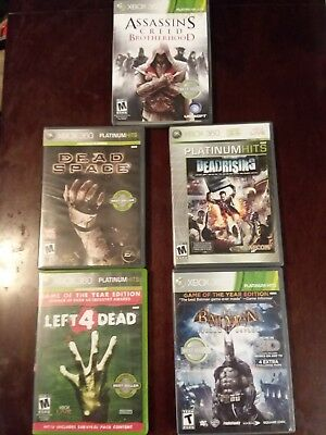 xbox 360 video games 5 pack