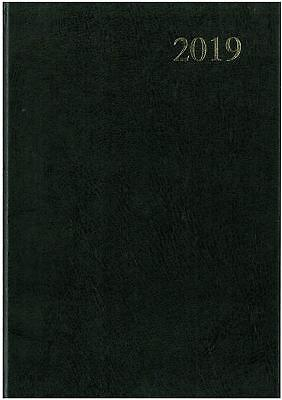 A5 Week to View 2019 Diary Collins Essential Black- 941165