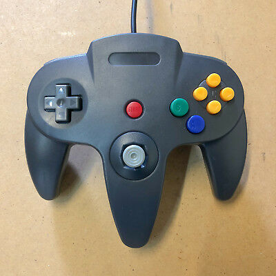 Nintendo 64 Controller Remote for N64 Black Brand New - Ships With Tracking