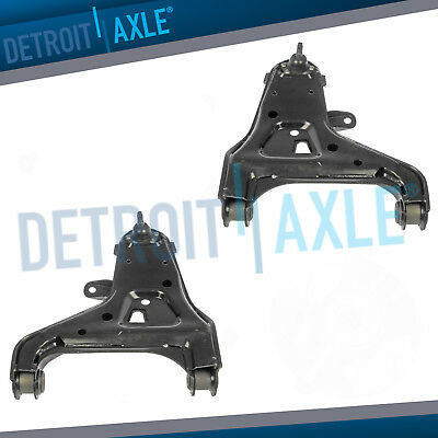 Front Lower Control Arm + Ball Joint Pair for Chevy Blazer GMC Jimmy S10 4WD